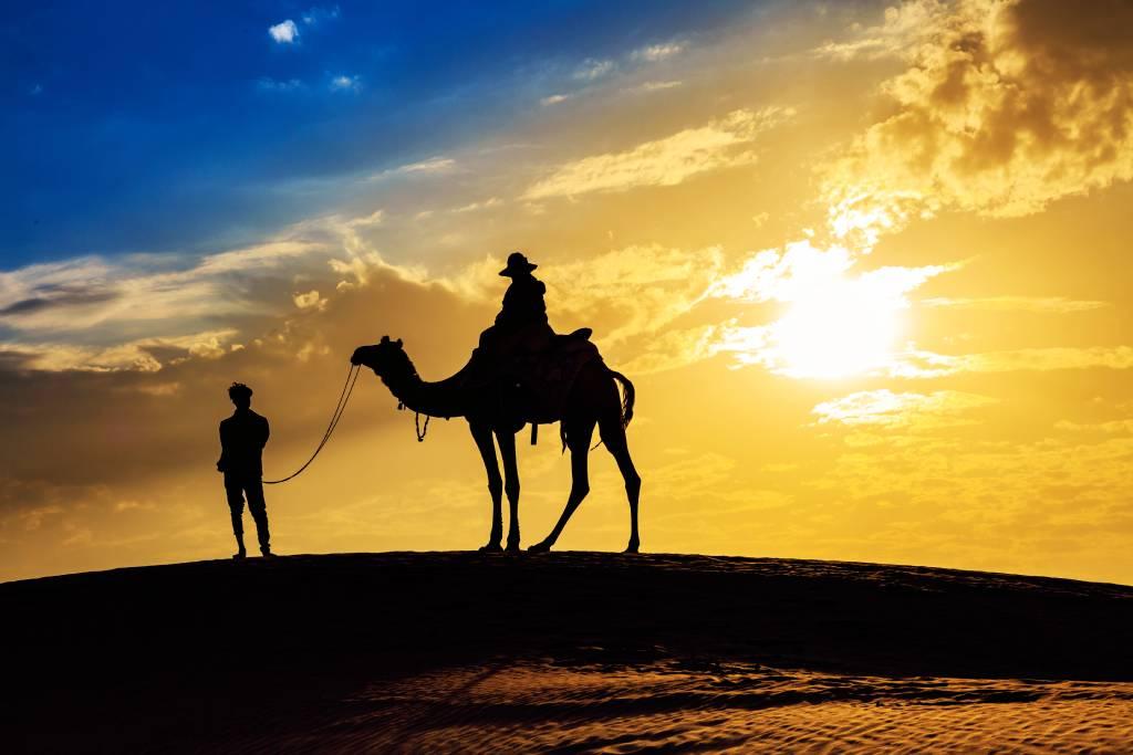 Camel Safari: Discover the Sand Dunes Through the Ship of ...